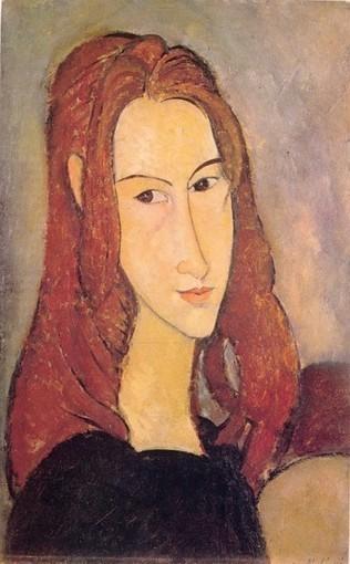 #024 ❘ Amedeo MODIGLIANI (1884 - 1920) ❘ Portrait de Jeanne Hébuterne ❘ 1919 ❘ Huile sur toile ❘ 55 x 38 cm | # HISTOIRE DES ARTS - UN JOUR, UNE OEUVRE - 2013 | Scoop.it