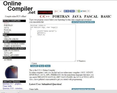 Top 9 Online C++ Compiler for computer programmer   Computer Tricks   Scoop.it