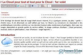 Le site du jour : tour d'horizon des services de cloud computing | netnavig | Scoop.it