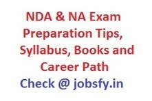 NDA & NA Exam Tips, Previous Papers Pdf Links, Syllabus and Career Path  « jobsfy | Latest Job Alerts | Scoop.it