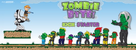 Zombie Byte On Kickstarter | A Mobile Game By Game Forward Studio | Inspired By Video Game Culture | Zombie Byte! for iOS & Android Delivers Rare Zombie Gaming Experience on Kickstarter | Scoop.it