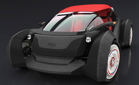 3D-Printed Car Manufactured in 44 Hours using 40 parts costing only £11,000 | Hi-Tech AES (Automotive Engineering Services) | Scoop.it