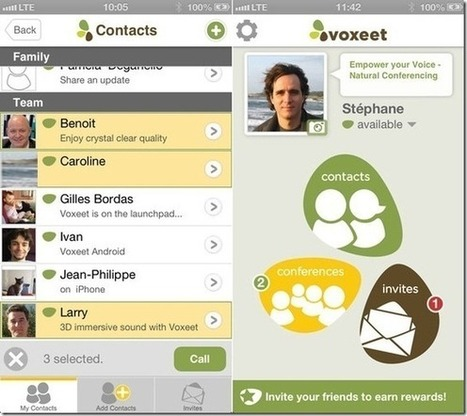 High Quality Conference Calls On iPhone, Android And PC With Voxeet | iOS, WP8, Mac, Linux, | Scoop.it