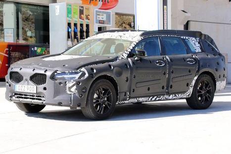 Volvo V90 Cross Country : le break surélevé est au programme | MonAutoNews | Scoop.it