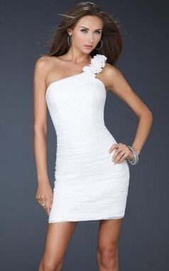 Asymmetrical Cocktail La Femme 16993 Short Prom Dress White Sale [La Femme 16993] - $169.00 : 2013 Prom Homecoming Dresses On Sale, Save 70% Off! | homecoming dresses 2013 | Scoop.it