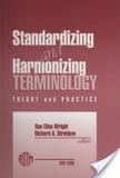 Standardizing and Harmonizing Terminology   terminology news   Scoop.it