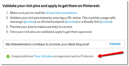 What Every Blogger Needs to Know About Pinterest Rich Pins   Everything Marketing You Can Think Of   Scoop.it