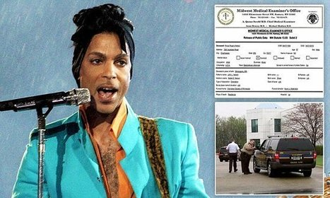 Autopsy report: Prince died of self-administered FENTANYL overdose | Partnering to support women who inject drugs | Scoop.it