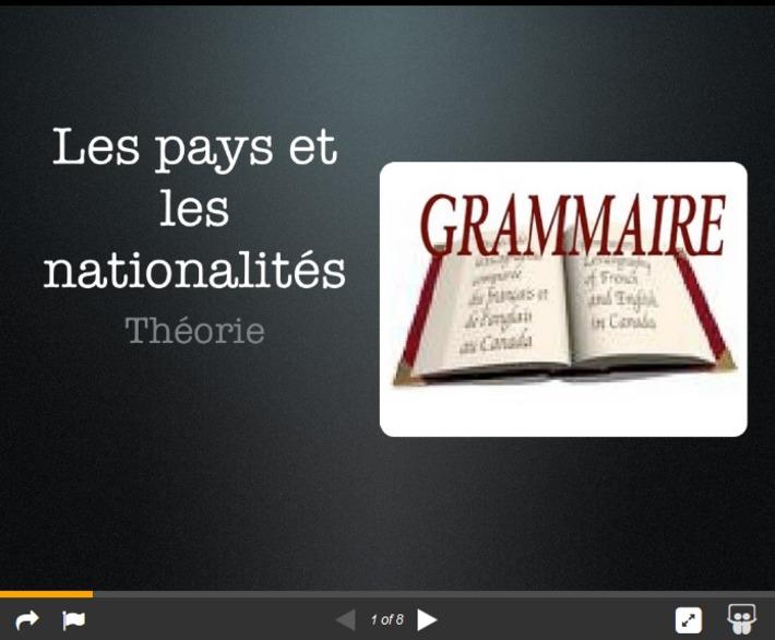 Nationalités et noms géographiques | TIC et TICE mais... en français | Scoop.it