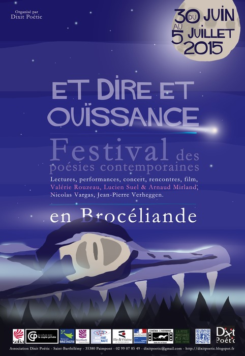 [agenda] 30 juin au 5 juillet, en Brocéliande, Festival des poésies contemporaines | Poezibao | Scoop.it