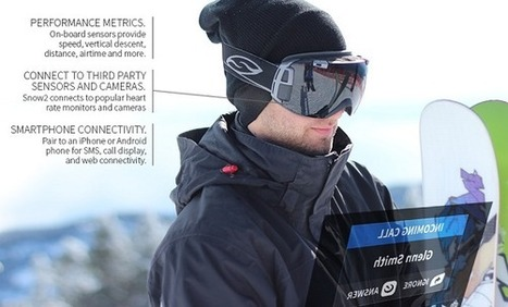 Snow2 transforme votre masque de ski en Google Glass des neiges | Geekerie | Scoop.it