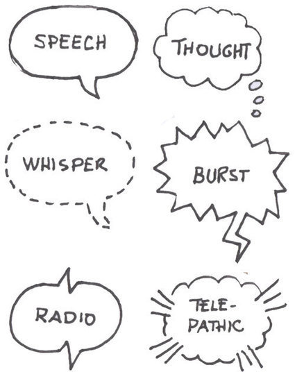 #Sketchnotes: Headers, Titles, Captions, and Speech Bubbles ... | SKETCHNOTING | Scoop.it