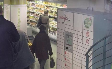 E-commerce: Les casiers de retrait tissent leur réseau | Cross canal | E-Marketing | Scoop.it