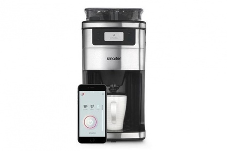Grind and brew coffee from bed with a smart coffee machine | Best Grind and Brew Coffee Maker | Scoop.it