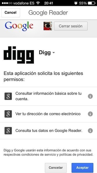Digg Reader, una nueva alternativa al cierre de Google Reader.- | Google+, Pinterest, Facebook, Twitter y mas ;) | Scoop.it