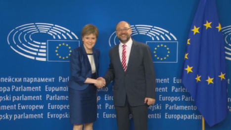 Nicola Sturgeon begins talks with European Union leaders | REPUBLIC OF CATALONIA TIMES | Scoop.it