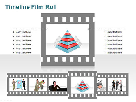 Media Timeline - Film Roll Style in PowerPoint | PowerPoint Presentation Tools and Resources | Scoop.it
