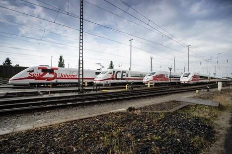25 years of Germany's ICE   EricJ 's Railway Topics   Scoop.it