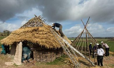 GB : Neolithic homes reconstructed for Stonehenge visitor centre | World Neolithic | Scoop.it