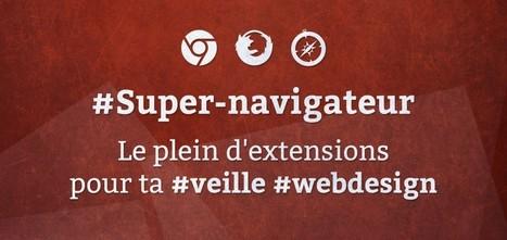 Super-navigateur : Le plein d'extensions pour ta veille webdesign - Blog du MMI | Resources & Tutorials | Scoop.it