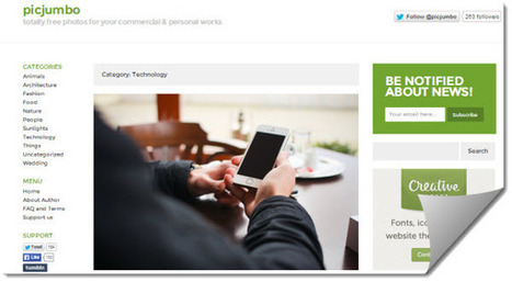 Picjumbo, imágenes gratuitas para uso personal y comercial | Lengua y didáctica | Scoop.it