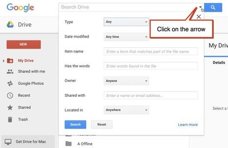Google Drive: Use the Search Filter - Teacher Tech | TEFL & Ed Tech | Scoop.it