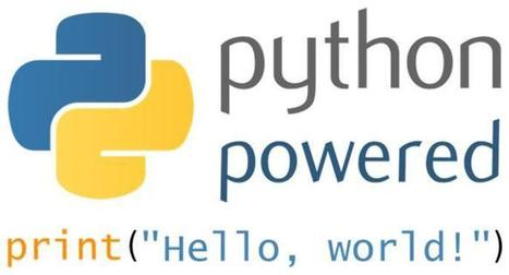 » 8 reasons you should be using Python | Big Data and NoSQL Daily | Scoop.it