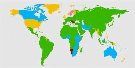 Estos son los idiomas más estudiados en cada país del mundo   Arquitecturas  digitales del aprendizaje para una educación 3.0   Scoop.it