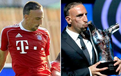 Franck Ribéry, la sufrida historia de un niño que hoy es el mejor futbolista de Europa | Deporte | Scoop.it