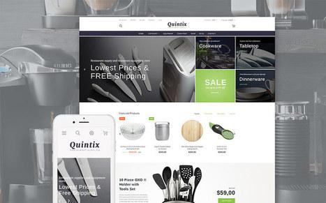 Quintix - Responsive Cookware Store Prestashop Theme for Kitchen Appliances Stores   platinastudio   Scoop.it