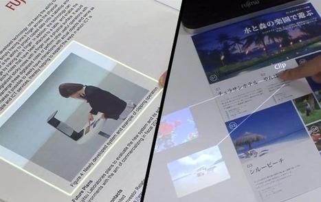 Du print comme interface tactile | Clic France | Scoop.it