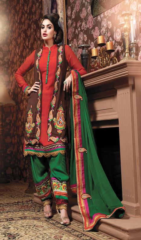 Buy Salwar Kameez Online India,Printed Salwar Kameez,Salwar Kameez Online USA   shivamprints.in   Indian Ethnic Wear For Women   Scoop.it