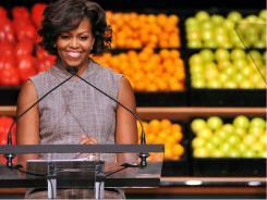 First lady teams up with grocers nationwide - USATODAY.com | Charliban Worldwide | Scoop.it