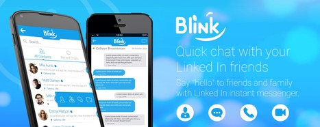 "Say ""Hello"" to your professional network with BlinkChat App 