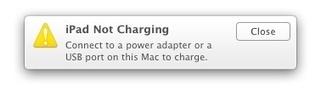"Mac 101: How to turn off the ""iPad Not Charging"" notification | iPad in de lerarenopleiding VIVES - campus Brugge | Scoop.it"