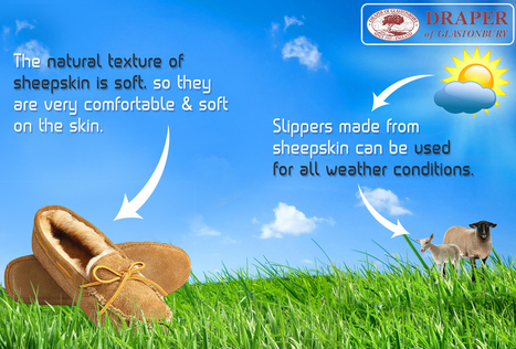 Sheepskin Slippers: Clement Treat For Overworked Feet   Sheepskin Slippers and Boots   Scoop.it