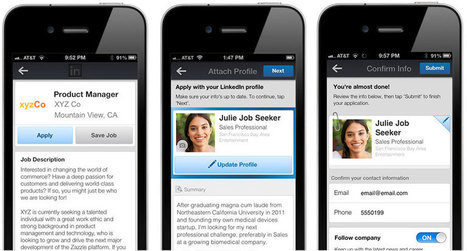 Candidates Can Now Apply for Your Jobs Anywhere, On Any Device Via LinkedIn   The Candidate Experience   Scoop.it