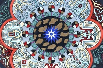 """Carl Jung Depth Psychology: Carl Jung references to the """"Blue Star"""" in The Red Book. 