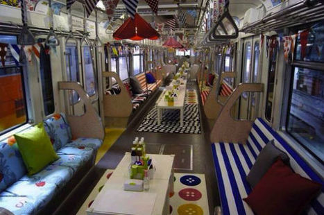 IKEA Transforms An Entire Monorail Line Into A Mobile Showroom [Pics] - PSFK | Moodboard | Scoop.it
