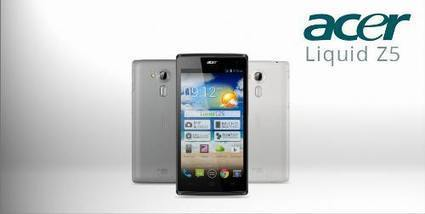 Harga Acer Liquid Z5 Duo, Phablet Android 5 Inch Murah - Droid Chanel | Harga Hargaku | Scoop.it