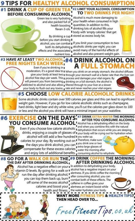 9 Tips For Healthy Alcohol Consumption | Alcohol Moderation | Scoop.it
