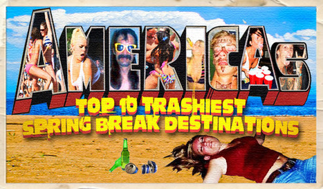 South Padre on the 10 trashiest spring break list | Texas Coast Living | Scoop.it