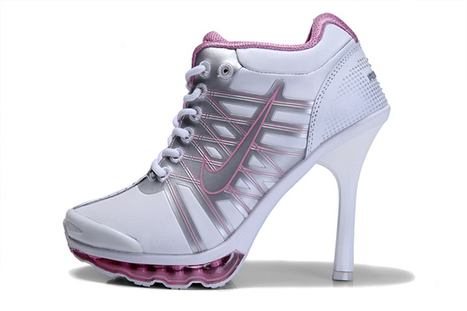 Nike Air Max 2009 Womens High Heels White - Silver/Pink | new and share style | Scoop.it