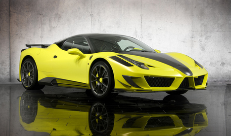THE MANSORY SIRACUSA:  FERRARI 458 ITALIA TRANSFORMATION | Lifestyles and Human Interest | Scoop.it