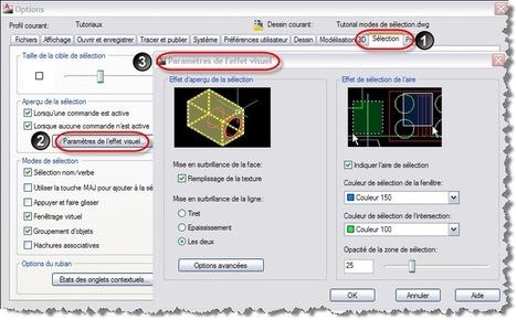 Les modes de sélection dans AutoCAD | Blog CAO | CAD | Scoop.it