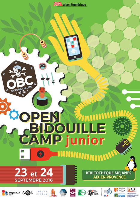 Open BIDOUILLE Camp Junior 2016 | Machines Pensantes | Scoop.it