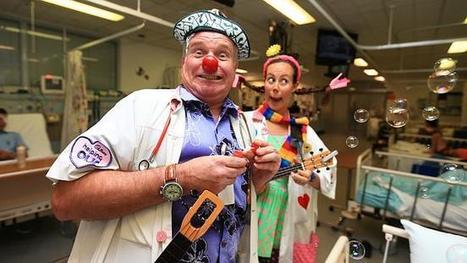 Saving kids with a smile is a part of daily work - The Daily Telegraph | Joy and Business | Scoop.it