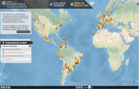 Mapa Colectivo de la educación alternativa: Reevo | Cambio | Scoop.it