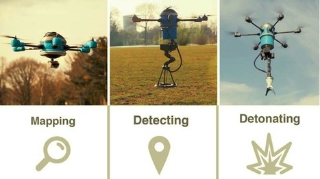 This drone can detect and detonate land mines | Heron | Scoop.it