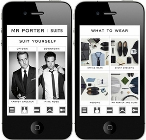Mr. Porter to Host Fashion Show & Digital Campaign Inspired by 'Suits' - BlackBook Magazine | Music & Fashion | Scoop.it